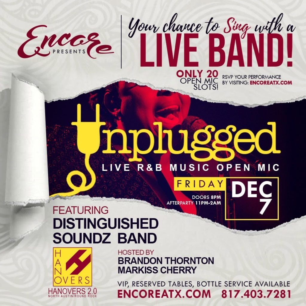 Encore Saturdays DJ Donte | 12.7 @ Hanovers 2 | Austin | Texas | United States