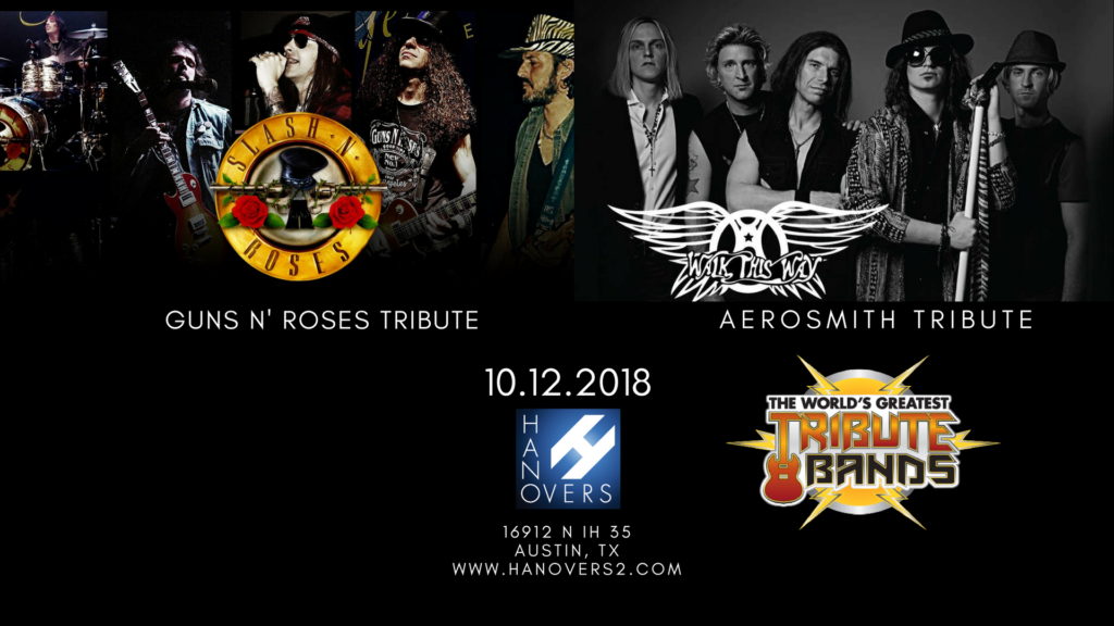 Metal Tributes with Guns 4 Roses | Walk This Way - ALL AGES @ Hanovers 2 | Austin | Texas | United States