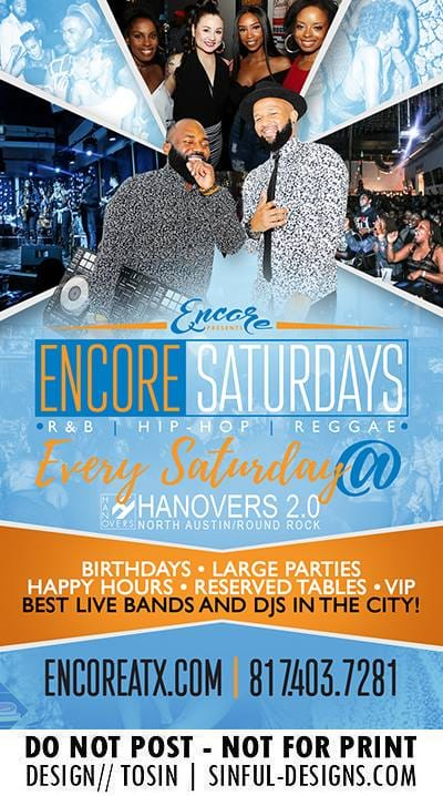 Encore Saturdays 1.26 @ Hanovers 2 | Austin | Texas | United States