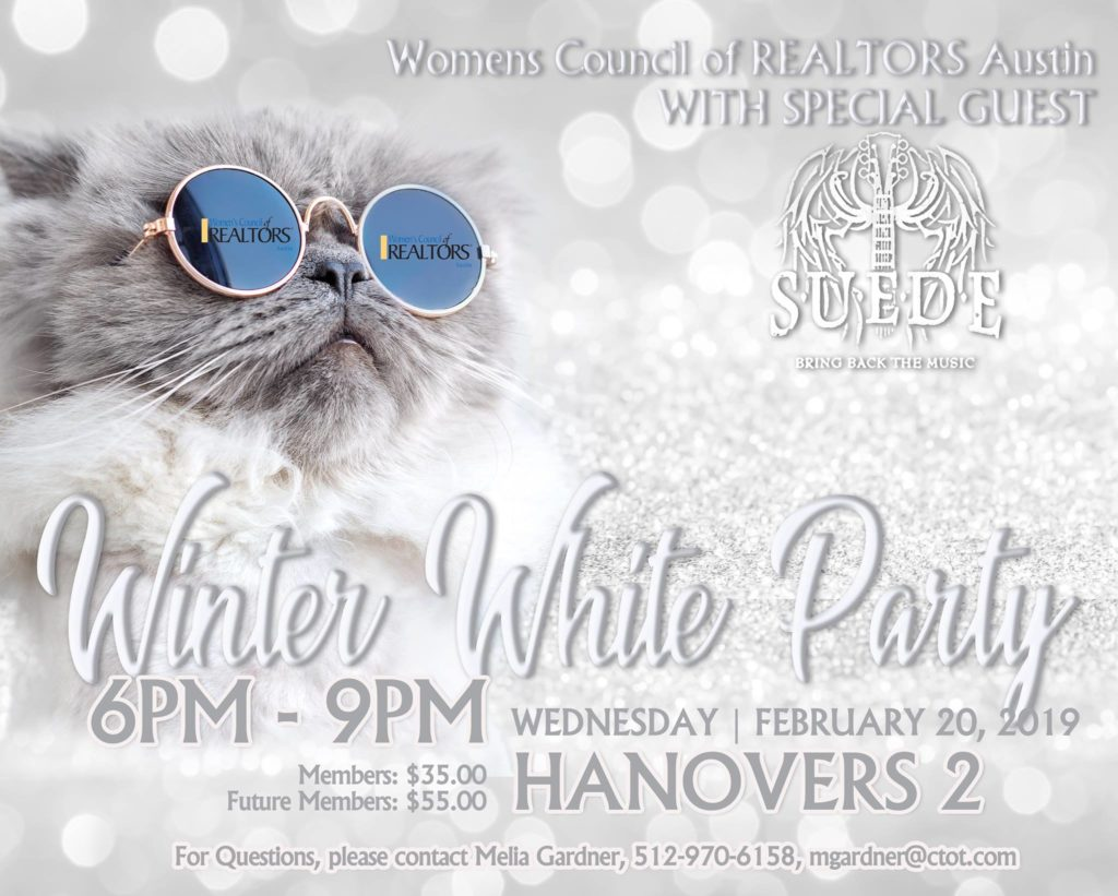 PRIVATE EVENT: Winter White Party with SUEDE @ Hanovers 2.0 | Austin | Texas | United States