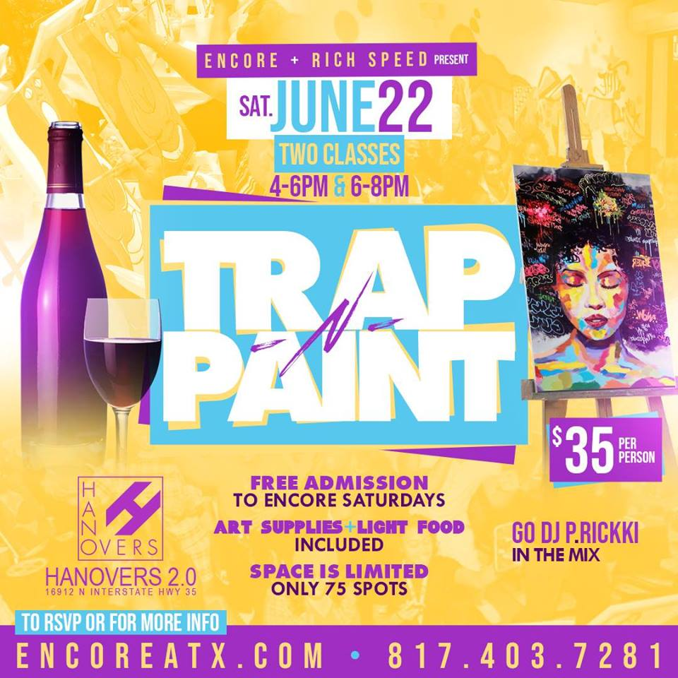Trapped & Paint 6.22 @ Hanovers 2 | Austin | Texas | United States