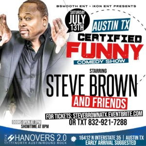 Funny 2nd Saturdays | Comedy Series 7.13 @ Hanovers 2 | Austin | Texas | United States