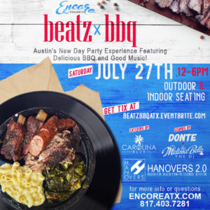 Beatz & BBQ 7.27 @ Hanovers 2 | Austin | Texas | United States