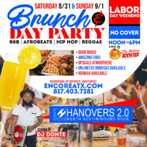 Labor Day Brunch + Day Party Saturday | 8.31