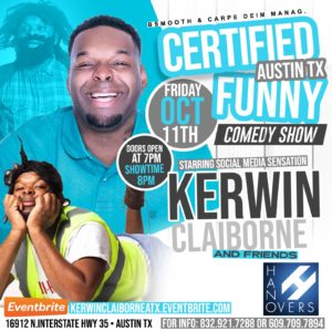 Certified Funny Comedy Show | 10.11