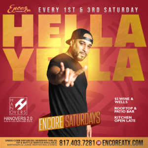Encore Saturdays | 11.16