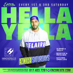 Encore Saturdays | 11.2