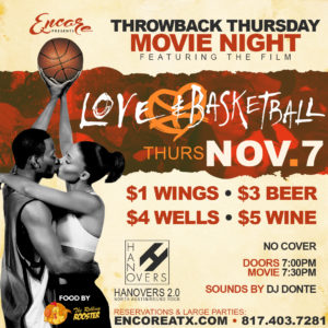Throwback Thursday Movie Night | 11.7