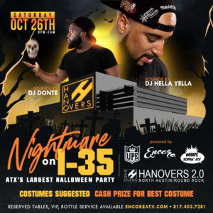 Nightmare on 35 | Halloween Bash 10.26
