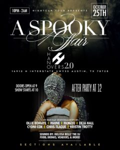 Spooky Affair: Live Music | 10.25